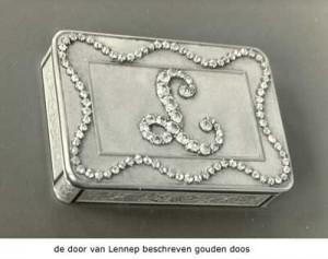 De door Van Lennep beschreven snuifdoos