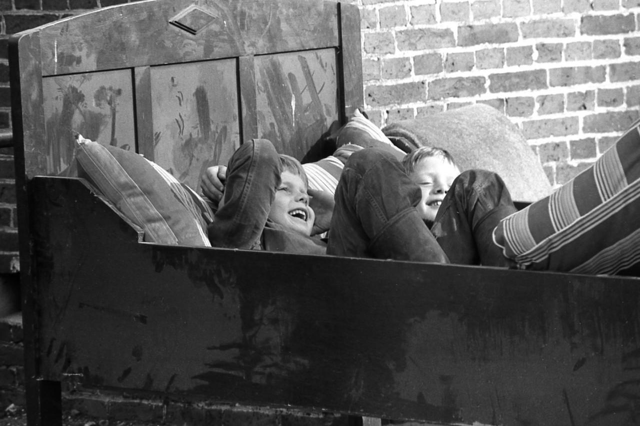 Bedden werden ter plekke getest, zoals door Pieter Toxopeus en Ringo Ennema (foto 1)