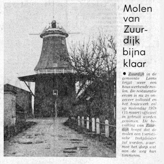 Nieuwsblad van het Noorden: 8 februari 1978