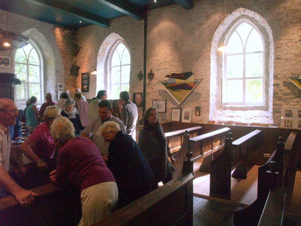 Weekend Ter Horst, Tentoonstelling in de kerk (foto 4)