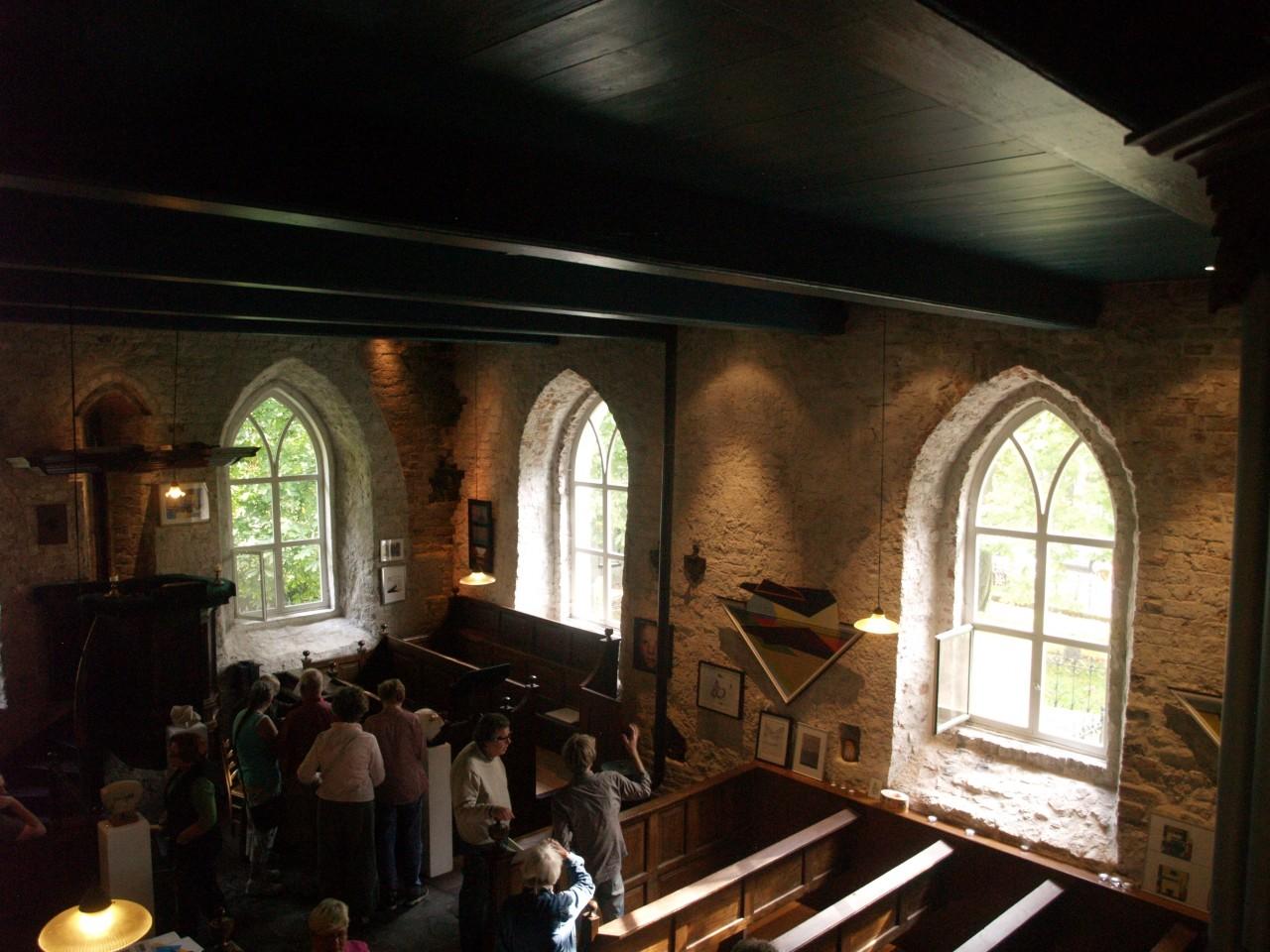 Weekend Ter Horst, Tentoonstelling in de kerk (foto 5)
