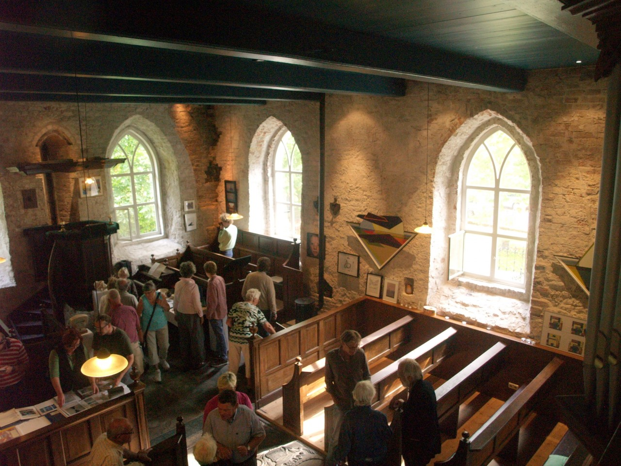 Weekend Ter Horst, Tentoonstelling in de kerk  (foto 6)