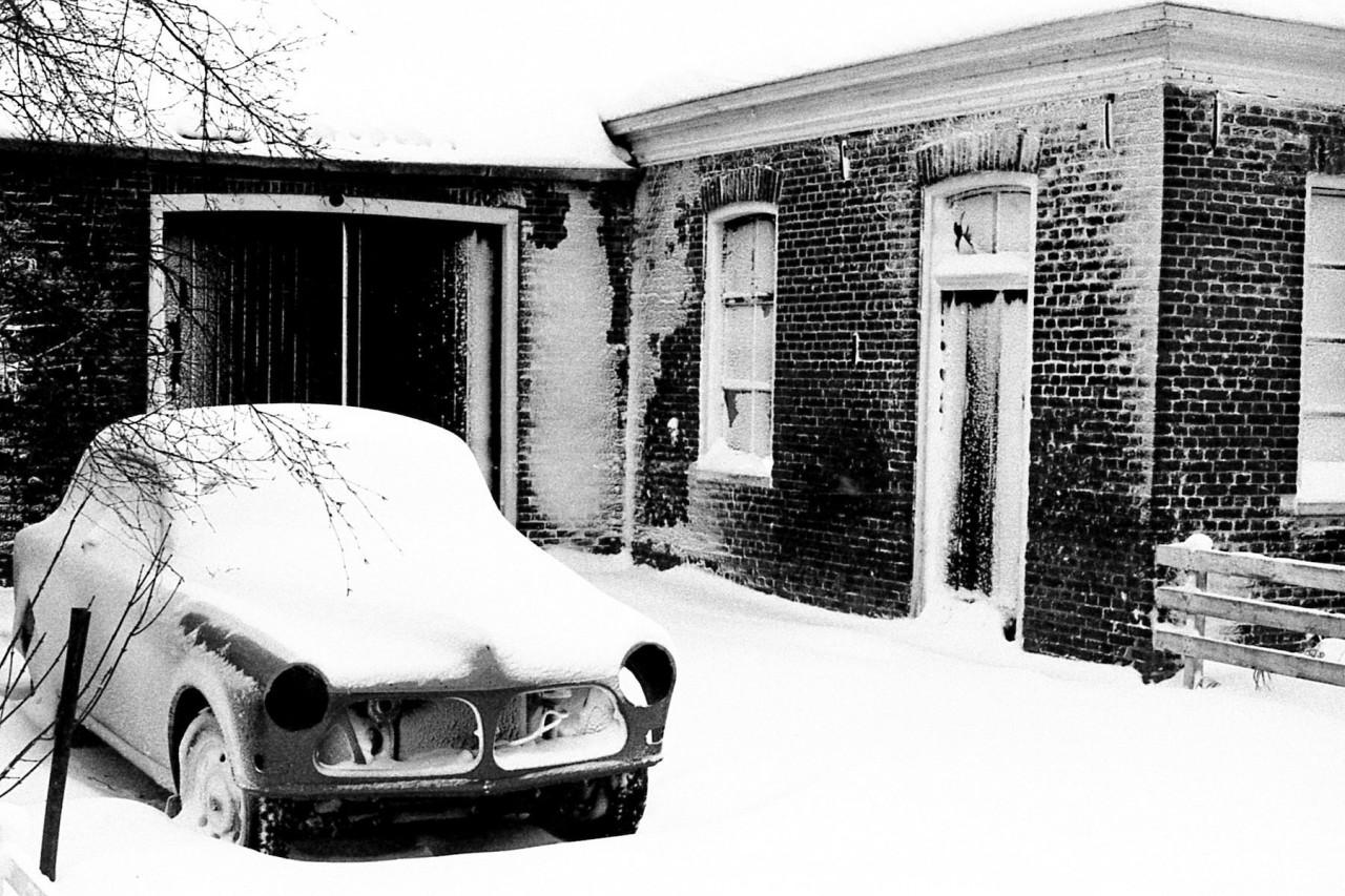 Smederij in de sneeuw (foto 1)