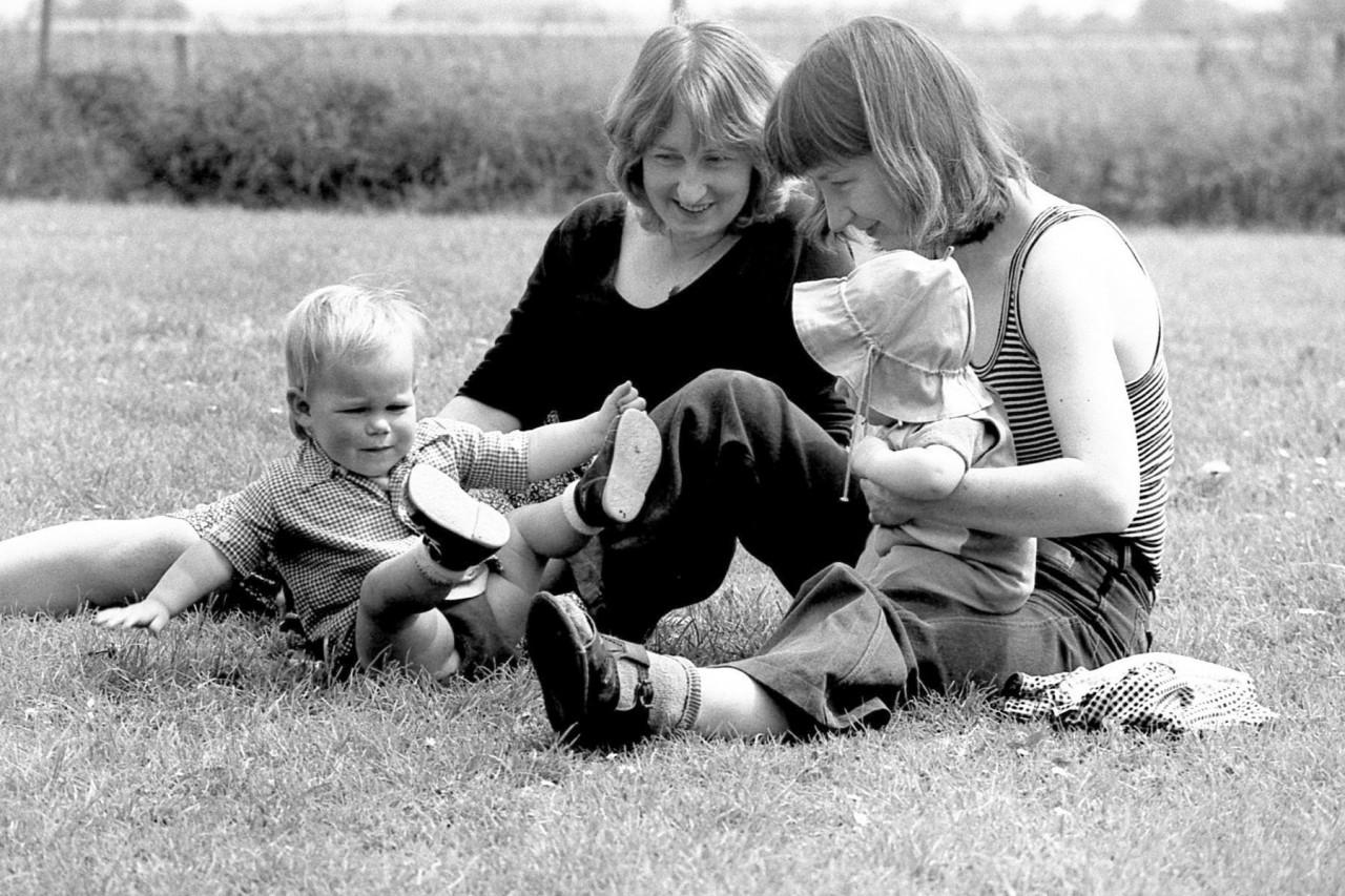 Mariska, Jennifer, Gretha en Thomas