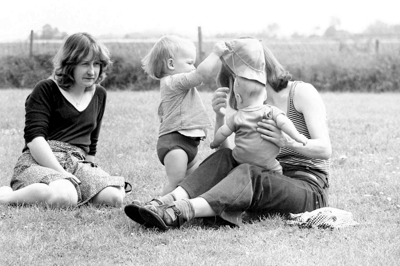 Jennifer, Mariska, Thomas en Gretha