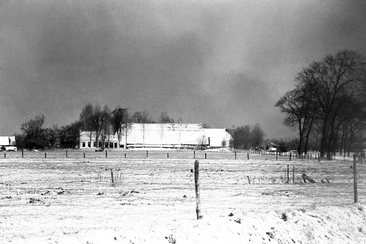 Boerderij van Leemhuis bij Warfhuizen, later gekocht door de fam. van Wijk van Castor