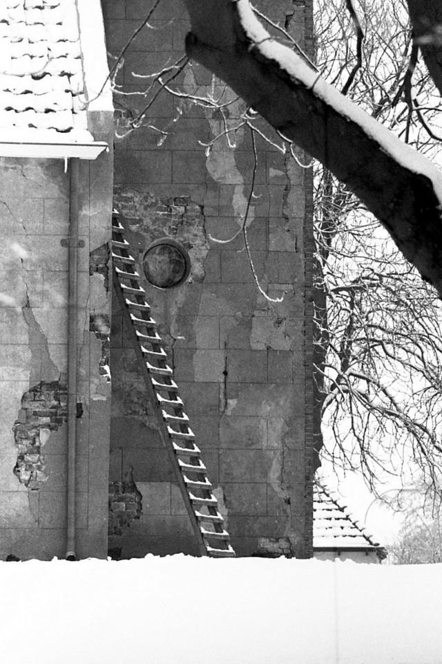 Vergeten ladder?