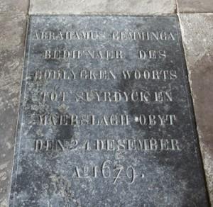 kerk graf rij 2 abrahamus gemminga